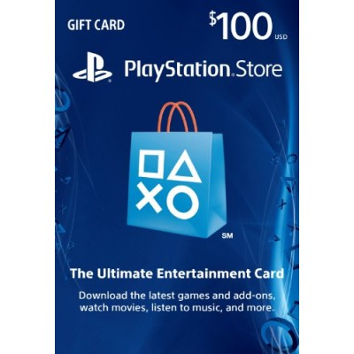 PlayStation Network Card 100$ USA - PSN Card