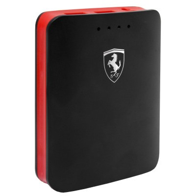 Ferrari Powerbank 10400mAh Dual USB 3A with Flashlight