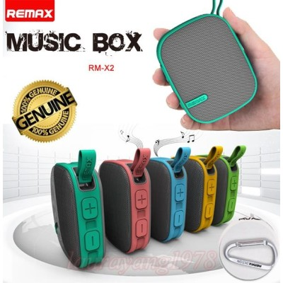REMAX Wireless Mini Travel Portable Bluetooth Music Smartspeaker Box
