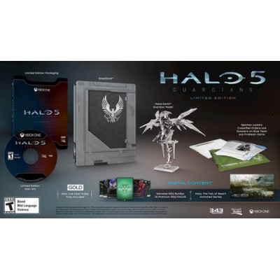 Halo 5: Guardians Limited Edition USA Xbox one