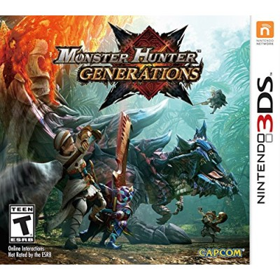 Monster Hunter Generations - Nintendo New 3DS XL