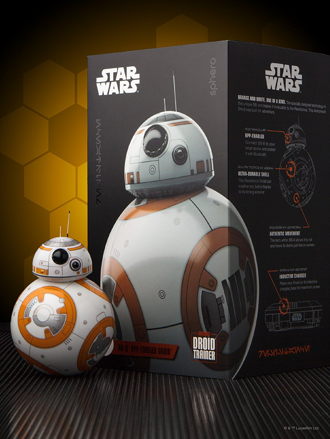 Buy Smart Toys Online In Qatar Shop Electronics Doha Bb8 Star Wars Special Edition Bundle By Sphero App Enabled Droid Sale Bb 8 Tcc Mobiles Games Store Tccq
