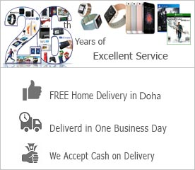 Shop online in Doha, Qatar with Delivery