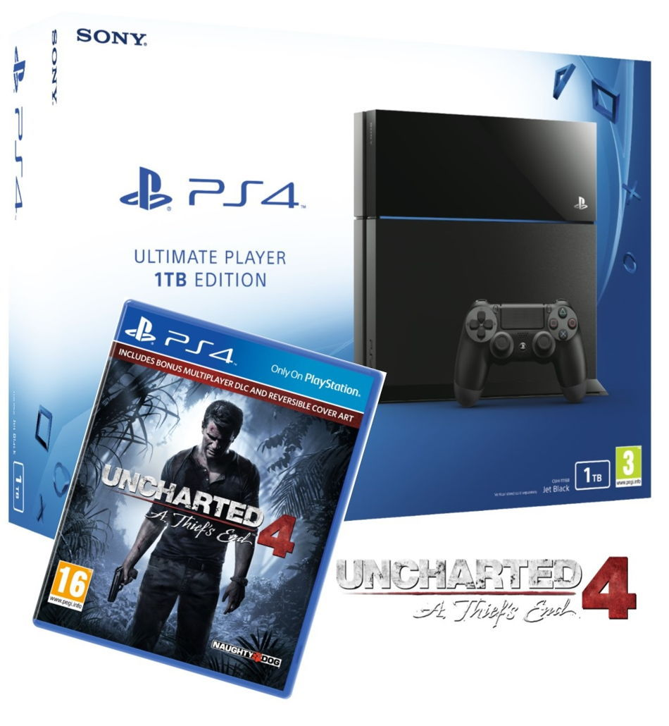 Sony Playstation 4 Slim 500gb Cuh 2016a Free Game Uncharted 1 Tb 2016b Source Review Cnet 2