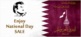 Qatar National day Special Offer. Best Discount Price in Qatar